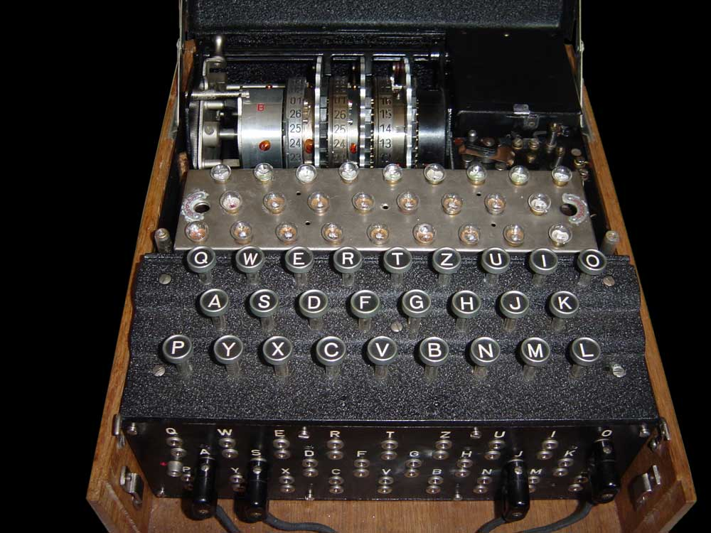 A Nazi Enigma Machine