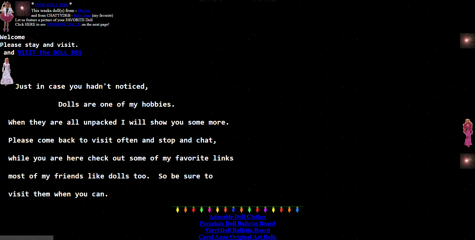 GeoCities page