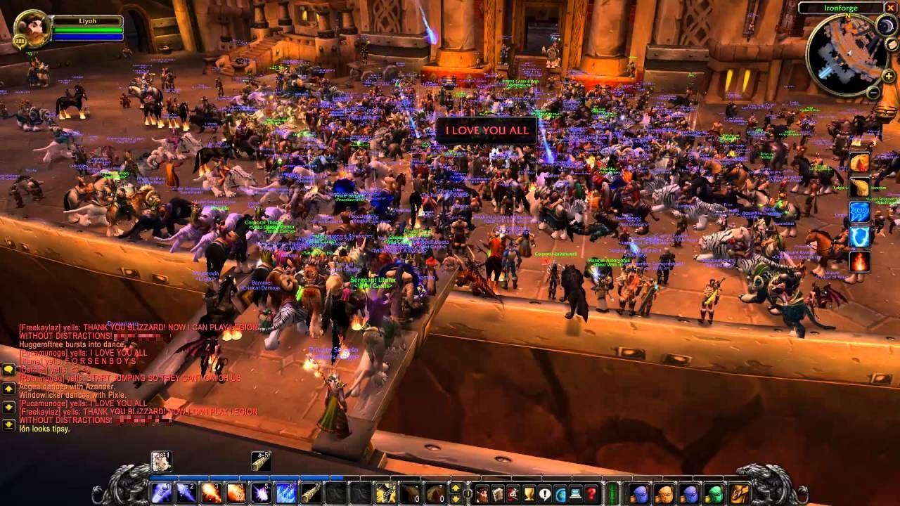 The last moments of Nostalrius
