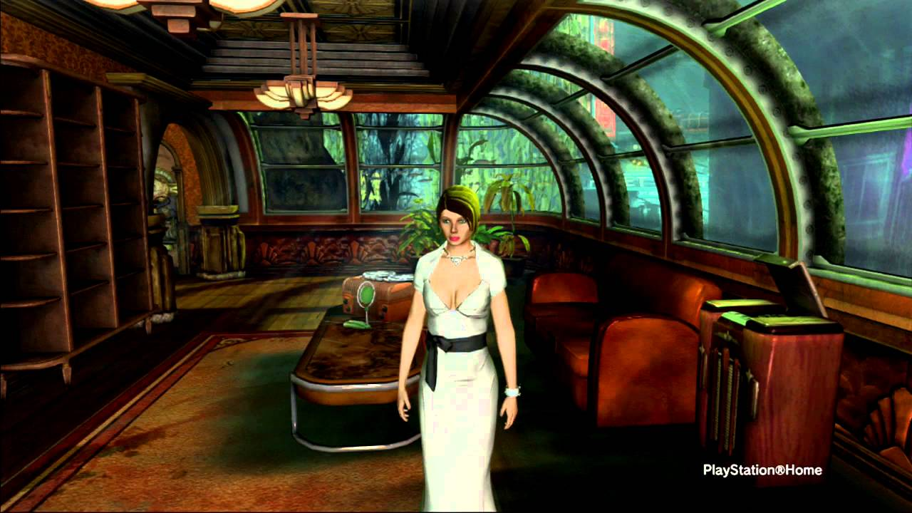 Bioshock Apartment from Playstation Home