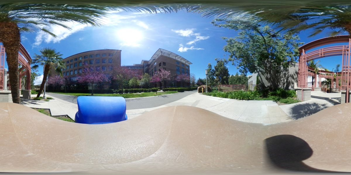 OneDrive representation of a 360-degree photo