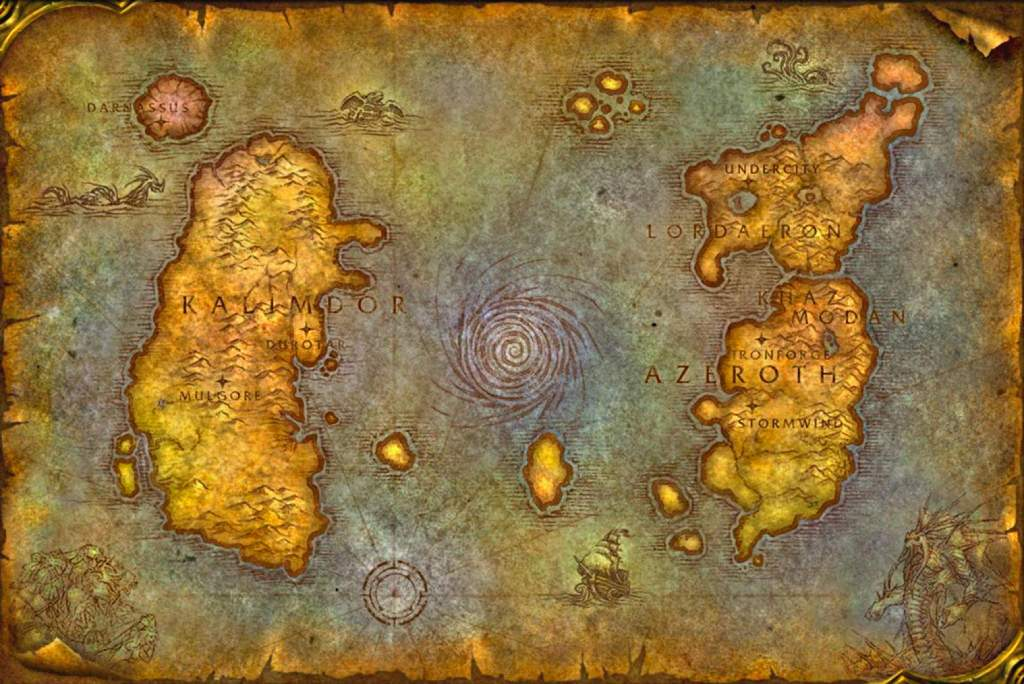 Vanilla WoW map - remember this place?