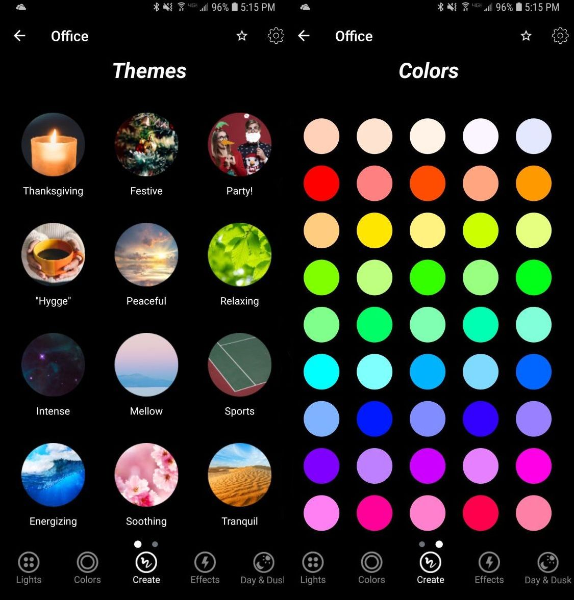 Themes / Colors