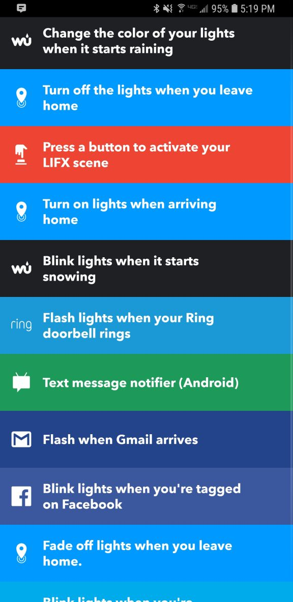 IFTTT Integration