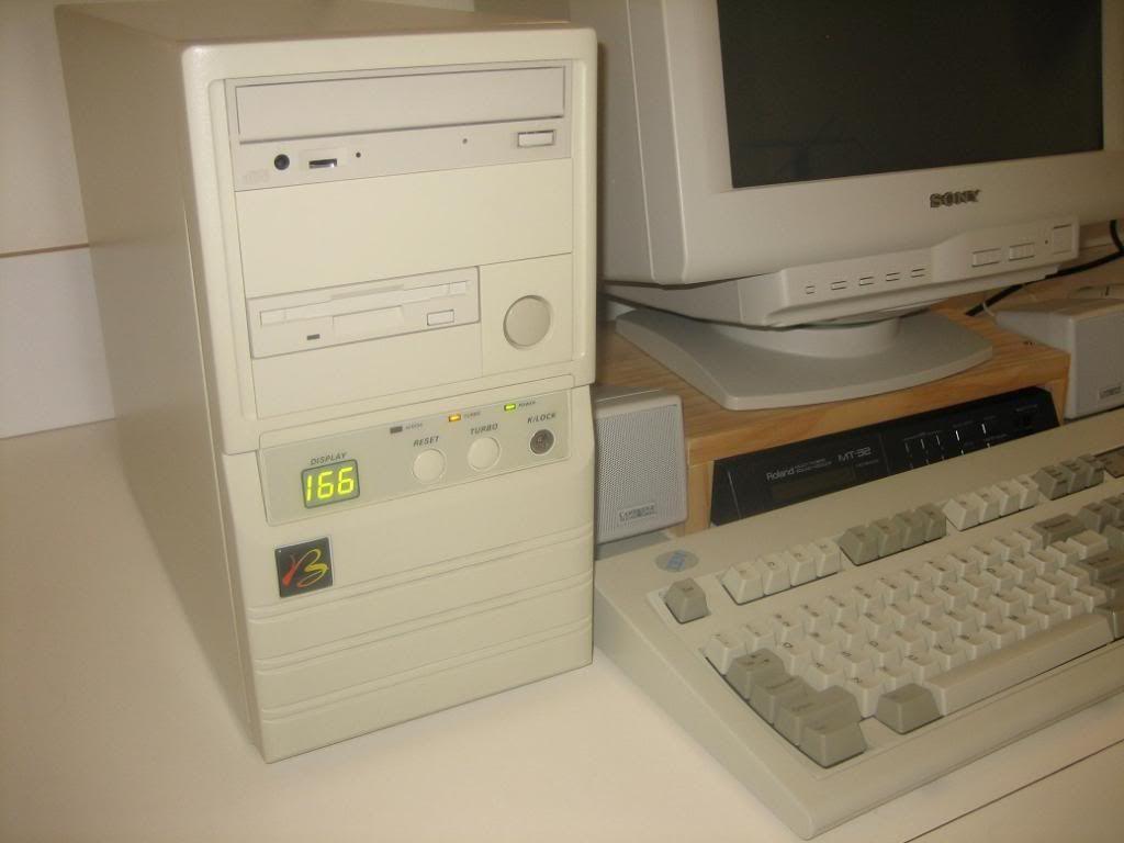 A 'beige box' computer