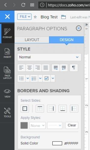 Format / Design